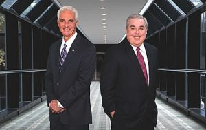 Charlie Crist and his friend John Morgan make a powerful team.