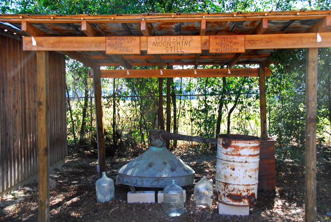 Moonshine can be ready to consume in just days according to the