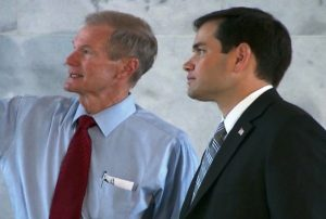 Florida Senator's Bill Nelson and Marco Rubio see the unemplotment issue differently