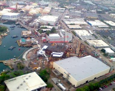 Universal Orlando Construction
