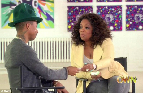 Oprah Winfrey Pharrell Williams