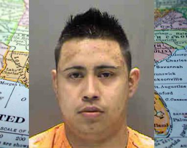 Uriel Hernandez booking photo
