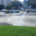Crews Working To Fix Water Main Break