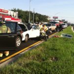 Traffic: Four Vehicles Involved In Crash In Tarpon Springs