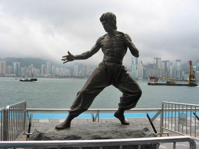 bruce lee statue in las chinatown unveiled newstalk