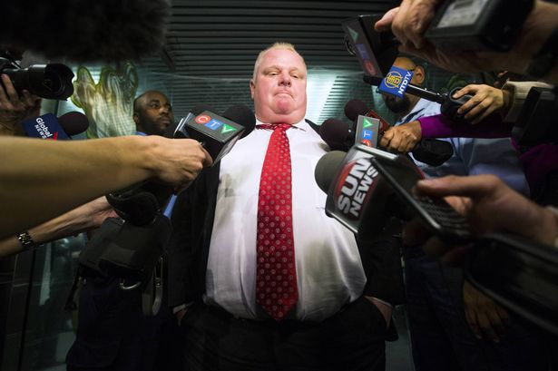 The Toronto City Council took dire measures today against Mayor Rob Ford.