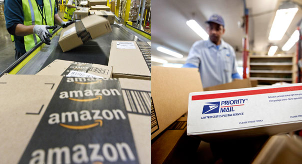 amazon and usps join forces for sunday deliveries newstalk florida. Black Bedroom Furniture Sets. Home Design Ideas