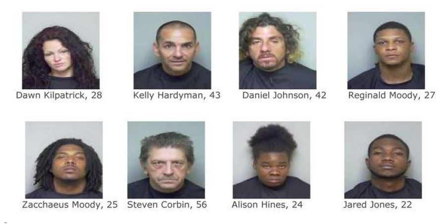 Putnam County: Undercover Drug Bust Catches Nine ...