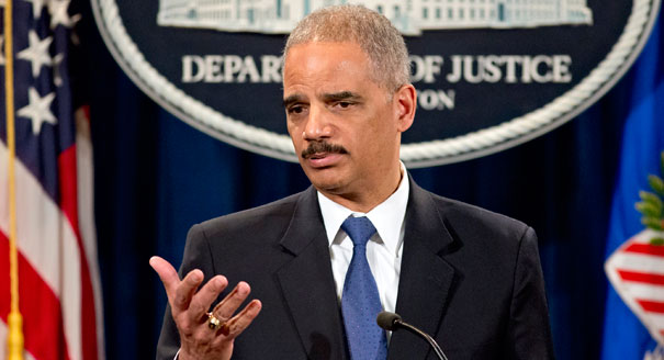 Attorney General Eric Holder to up hold Utah same sex unions.