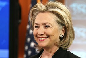 Hillary Clinton is warning that women are losing ground in their battle for equality.