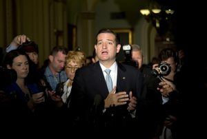 Texas Senator Ted Cruz is back to his old tricks as the budget bill looks to make it through Senate to avoid another shutdown