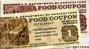 The food stamp program is a major part of the Farm Bill Congress hopes to pass
