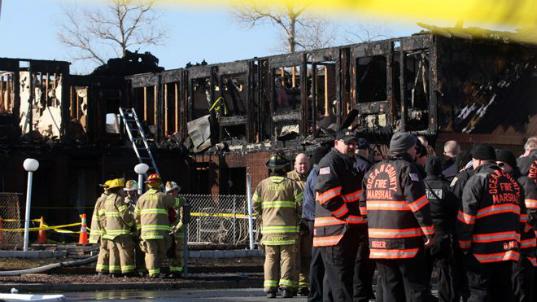 At Least 3 Dead In Jersey Shore Motel Fire 8 Hurt