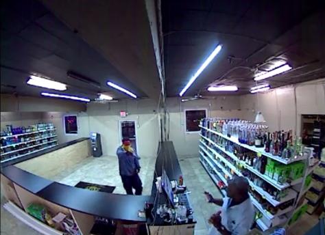 liquor stoer robbery
