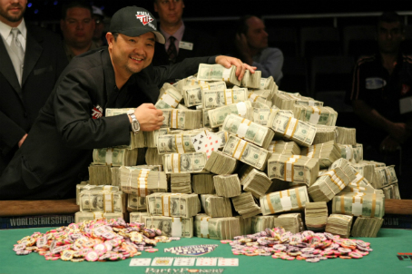 World Series of Poker winner Jerry Lang 2007