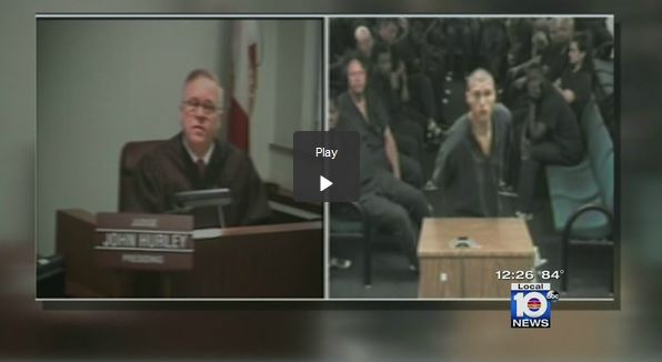 Cursing Defendant