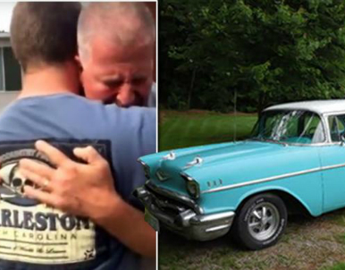 Son Buys Dad '57 Chevy