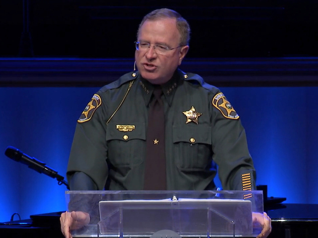 Sheriff Grady Judd Famous Quotes: Judd Under Fire For Uniform-Clad Church Sermons