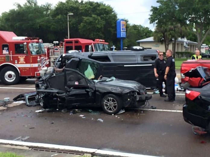 Florida Car Accident: Seven Car Accident Kills 1, Injures 5 In St. Pete