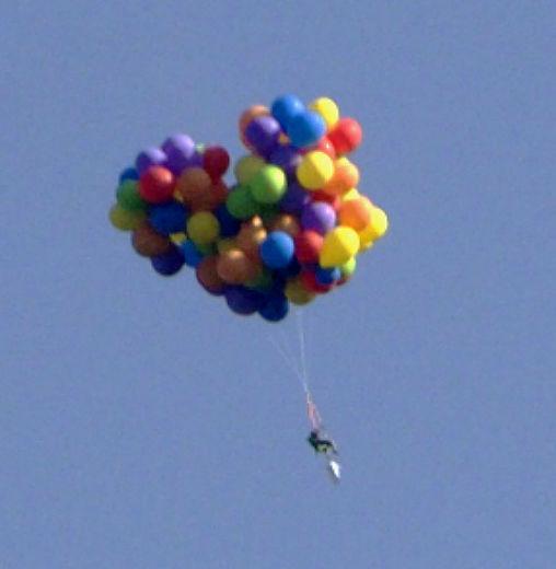Calgary Man Flies Balloon Chair Newstalk Florida N