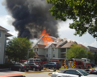 Fire Forces 75 People Out Of Orlando Apartment Building Newstalk Florida