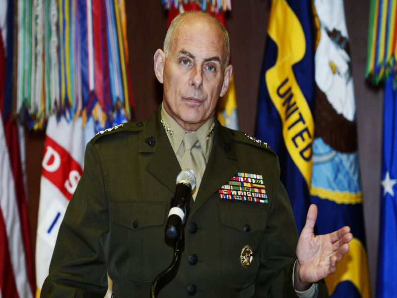General Kelly named head of Homeland Security By President ...