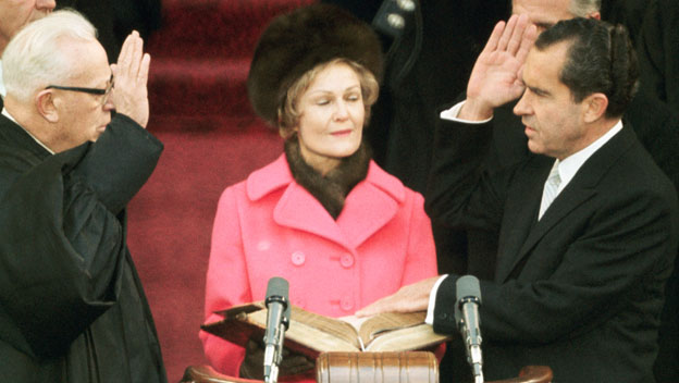 analysis of ronald reagans first inaugural Ronald reagan: second inaugural address this is, as senator mathias told us, the 50th time that we the people have celebrated this historic occasion when the first president, george washington, placed his hand upon the bible, he stood less than a single day's journey by horseback from raw, untamed.