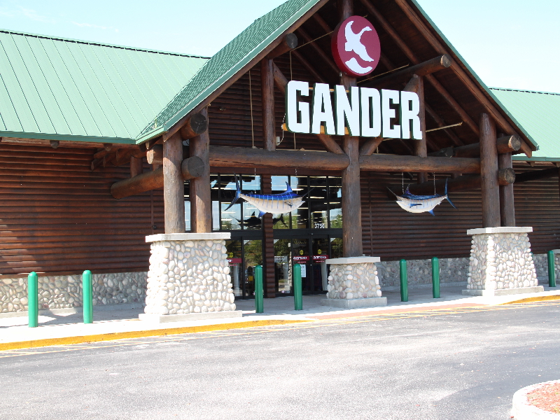 are sporting goods stores coming to an end gander is