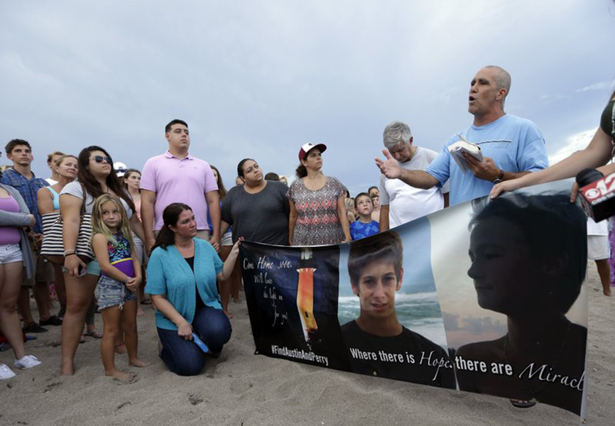 Family of missing Florida teen fisherman sues other boy's family