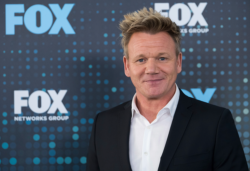 Gordon Ramsay serves up Burmese python for TV show