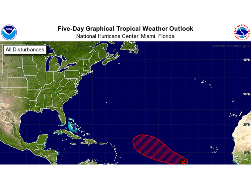Atlantic tropical cyclone likely by Friday
