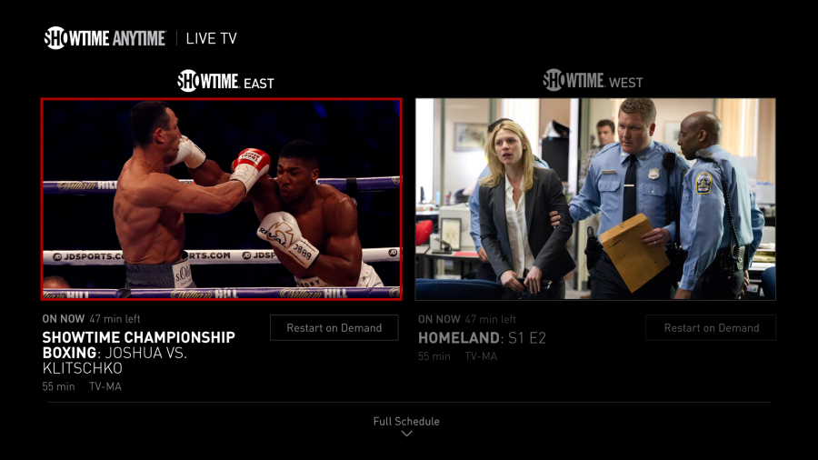 Showtime Anytime is the home to the best boxing on television