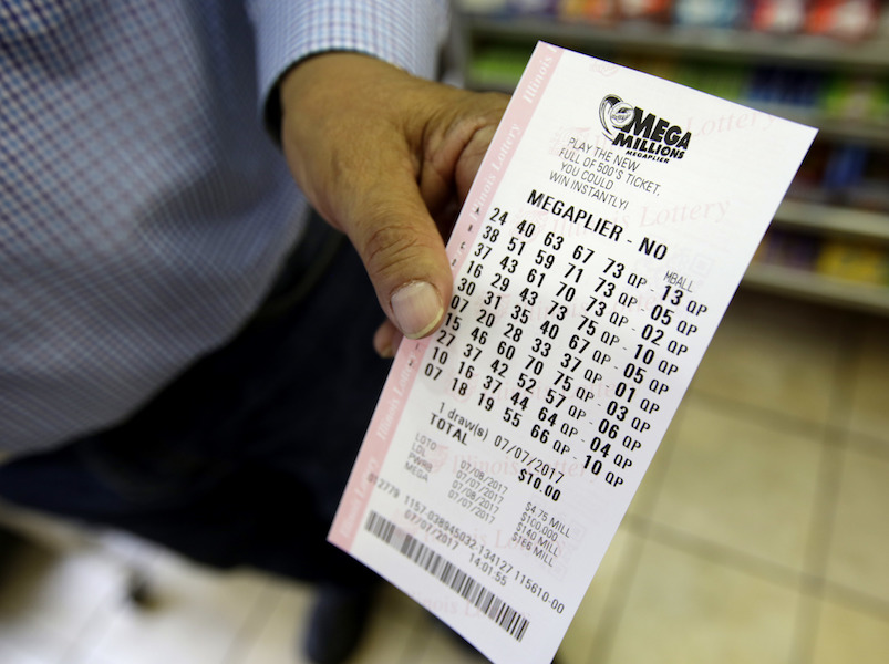 Mega Millions jackpot grows ahead of holiday weekend