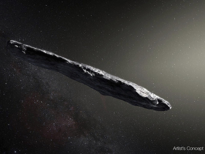 Oumuamua likely came from a binary star system