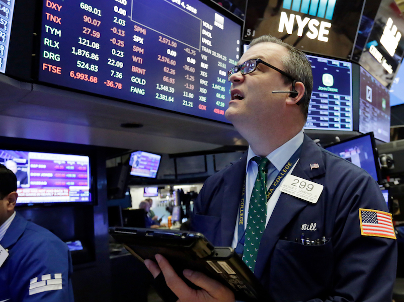 Stocks drop again as US, China trade dispute escalates