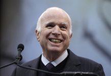 APTOPIX Liberty Medal McCain