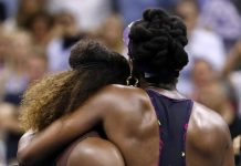Tennis stars Vennus and Serena Williams